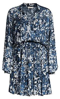 Shoshanna Women's Sonoma Alura Printed Blouson Dress - Size 0