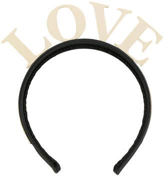 Dolce & Gabbana Love headband