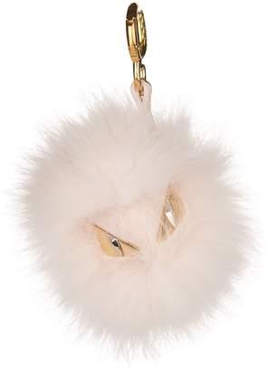 Fendi Fur Bag Bugs Charm