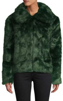 Emerald Faux Fur Jacket