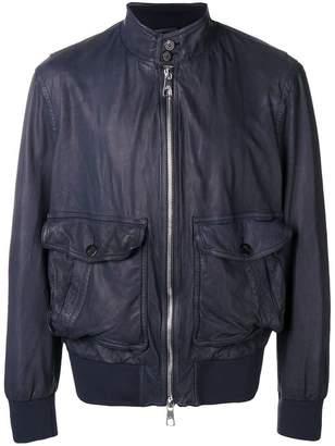 Neil Barrett funnel neck bomber jacket