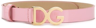 Dolce & Gabbana 'DG' logo belt