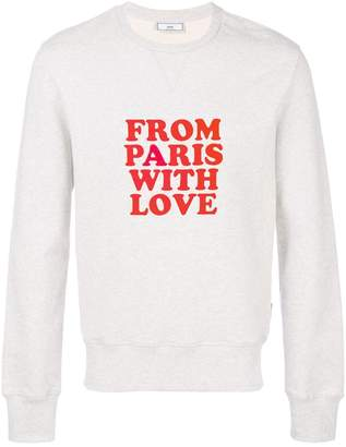 Ami Alexandre Mattiussi From Paris With Love Sweatshirt