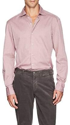 Barneys New York Men's Gingham Cotton Shirt