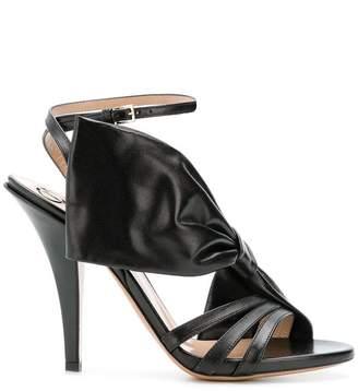 Valentino bow detail sandals