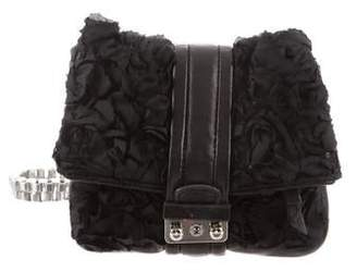 3.1 Phillip Lim Leather-Trimmed Woven Bag