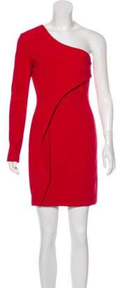Yigal Azrouel One-Shoulder Mini Dress