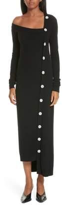 Ji Oh Asymmetrical Cardigan Dress