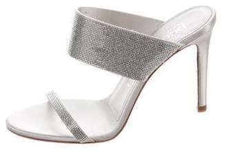 Pedro Garcia Leather Slide Sandals