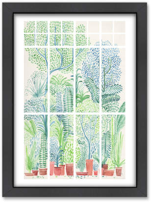 Americanflat Winter In Glass Houses 1 Printed Wall Art
