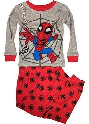 Spiderman Spider Man Long sleeve cotton tight fit pajamas, 2-piece set (Toddler Boys)