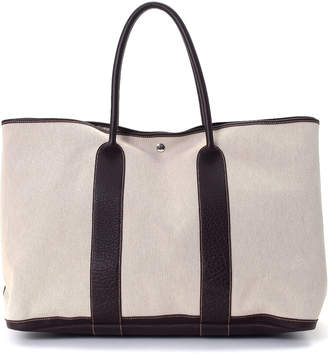 Hermes Garden Party 50 Canvas Tote - Vintage