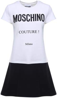 Moschino Couture Cotton-jersey Dress