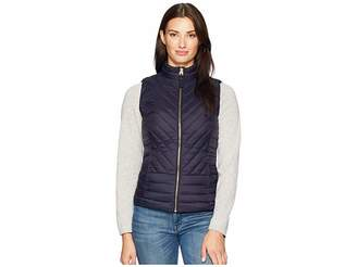 Joules 203072 Chevron Quilted Vest