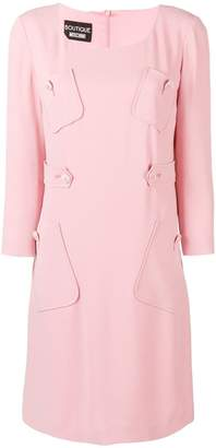 Moschino pocket detail shift dress