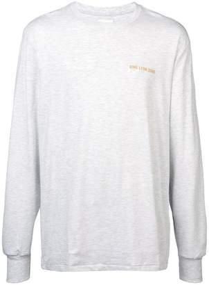 Leon Aimé Dore logo print long sleeve T-shirt