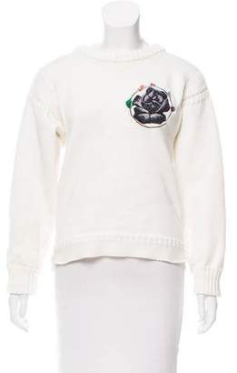 J.W.Anderson Embroidered Knit Sweater