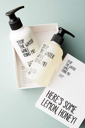 Stop The Water While Using Me! Hand Kit