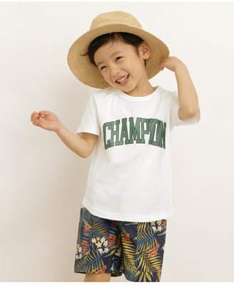 Champion (チャンピオン) - DOORS Champion×DOORSロゴプリントTシャツ(KIDS) アーバンリサーチドアーズ カットソー