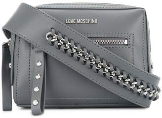 Love Moschino chain detail strap crossbody bag