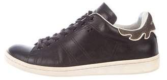 Etoile Isabel Marant Leather Low-Top Sneakers