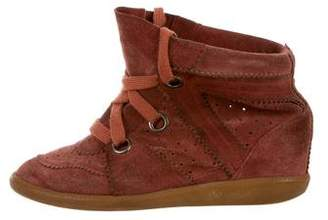 Isabel Marant Bobby Wedge Sneakers