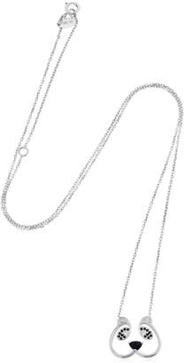 b8609c412 Ruifier Animaux Sweetie White Gold Necklace