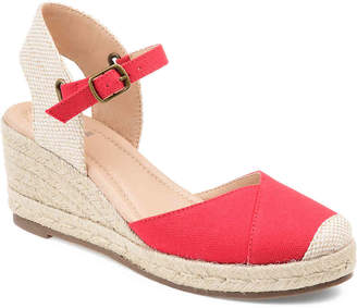 Journee Collection Ashlyn Espadrille Wedge Sandal - Women's