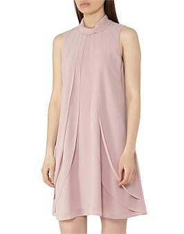 Reiss Cohen-Ruffle Dress