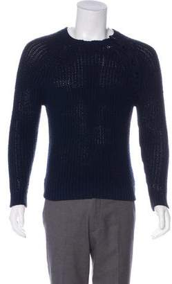Ralph Lauren Black Label Rib Knit Crew Neck Sweater