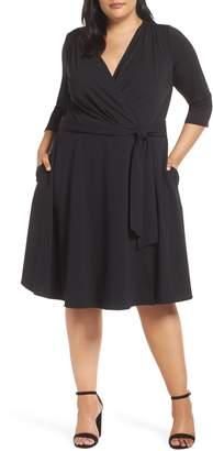 ECI Wrap Dress