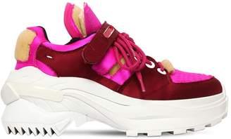 Maison Margiela 50mm Retro Fit Silk Satin Sneakers