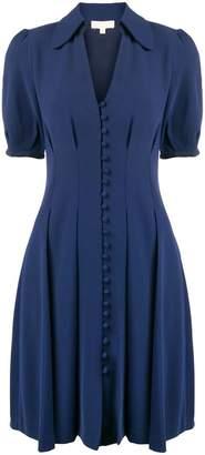 MICHAEL Michael Kors V-neck button dress