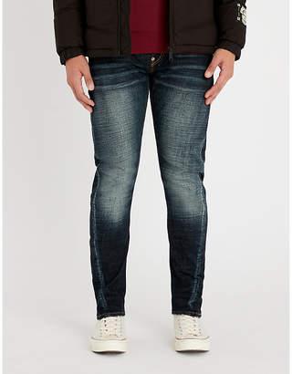 Evisu Daruma slim-fit skinny jeans