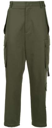 Juun.J cropped cargo trousers