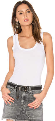 Enza Costa Rib Fitted Tank