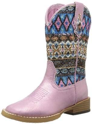 Roper Aztec Metallic Square Toe Bling Cowgirl Boot