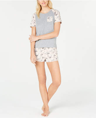 Flora Nikrooz Flora by Knit Top & Shorts Pajama Set
