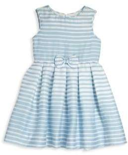 Rachel Riley Little Girl's & Girl's Striped Bow Party Dress