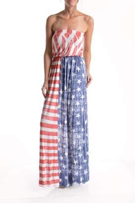 T Party Fashion Vintage American Flag