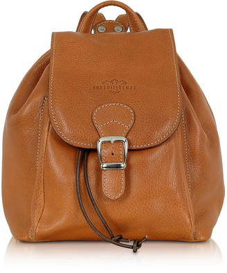 30730a4a235 Robe Di Firenze Camel Italian Leather Backpack