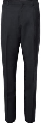 Acne Studios Midnight-Blue Boston Wool and Mohair-Blend Suit Trousers