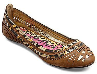 Betseyville by Betsey Johnson Hinder Cutout Flats