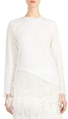 Marques Almeida Marques'Almeida Jersey Long-Sleeve Cotton Top