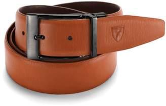 Aspinal of London Men's Reversible Leather Belt