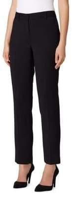 Tahari Arthur S. Levine Petite Double Weave Ankle Pants