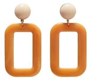 MANGO Resin earrings