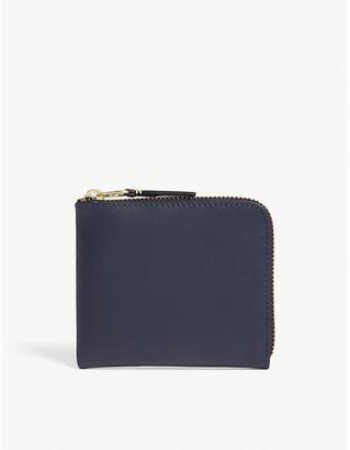 Comme des Garcons Leather zip coin purse