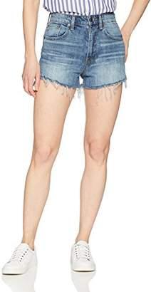 Lucky Brand Women's High Rise Lucky Pins Jean Short in