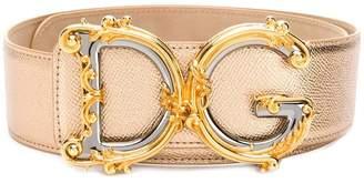 Dolce & Gabbana Dauphine metallic belt